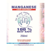 100% Reef Safe Manganese Liquid Supplement 250ml